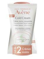 Avène Eau Thermale Cold Cream Duo Crème Mains 2x50ml à LEVIGNAC