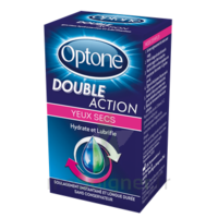 Optone Double Action Solution Oculaire Yeux Secs Fl/10ml à LEVIGNAC