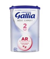Gallia Bebe Expert Ar 2 Lait En Poudre B/800g à LEVIGNAC
