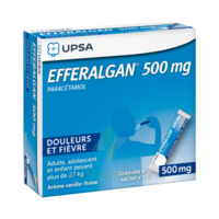 Efferalgan 500 Mg Glé En Sachet Sach/16 à LEVIGNAC