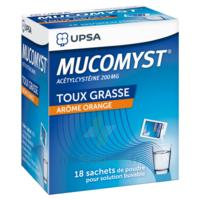 Mucomyst 200 Mg Poudre Pour Solution Buvable En Sachet B/18 à LEVIGNAC