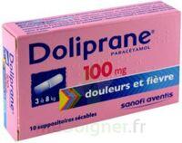 Doliprane 100 Mg Suppositoires Sécables 2plq/5 (10) à LEVIGNAC