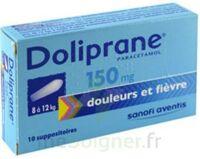 Doliprane 150 Mg Suppositoires 2plq/5 (10) à LEVIGNAC