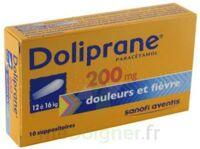 Doliprane 200 Mg Suppositoires 2plq/5 (10) à LEVIGNAC