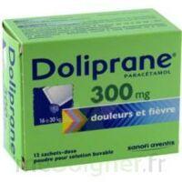 Doliprane 300 Mg Poudre Pour Solution Buvable En Sachet-dose B/12 à LEVIGNAC