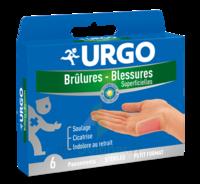 Urgo Brulures-blessures Petit Format X 6 à LEVIGNAC