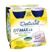Delical Effimax 2.0 Fibres, 200 Ml X 4 à LEVIGNAC