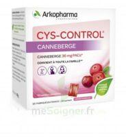 Cys-control 36mg Poudre Orale 20 Sachets/4g à LEVIGNAC