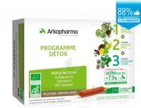 Arkofluide Bio Ultraextract Coffret Programme Détox 3x10 Ampoules/10ml à LEVIGNAC