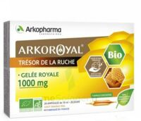 Arkoroyal Gelée Royale Bio 1000 Mg Solution Buvable 20 Ampoules/10ml à LEVIGNAC