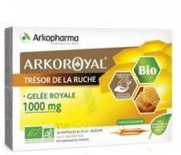Arkoroyal Gelée Royale Bio 1000 Mg Solution Buvable 20 Ampoules/10ml à LEVIGNAC