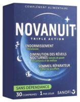 Novanuit Triple Action Comprimés B/30 à LEVIGNAC