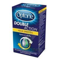 Optone Double Action Solution Oculaire Yeux Irrités Fl/10ml à LEVIGNAC