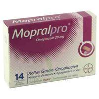 Mopralpro 20 Mg Cpr Gastro-rés Film/14 à LEVIGNAC