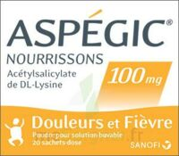 Aspegic Nourrissons 100 Mg, Poudre Pour Solution Buvable En Sachet-dose à LEVIGNAC