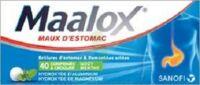 Maalox Hydroxyde D'aluminium/hydroxyde De Magnesium 400 Mg/400 Mg Cpr à Croquer Maux D'estomac Plq/40 à LEVIGNAC