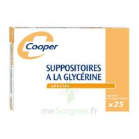 Suppositoires A La Glycerine Cooper Suppos En Récipient Multidose Adulte Sach/25 à LEVIGNAC