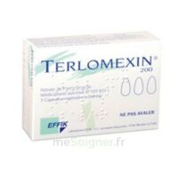 Terlomexin 200 Mg, Capsule Molle Vaginale à LEVIGNAC