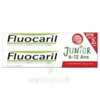 Fluocaril Junior Gel Dentifrice Fruits Rouges 6/12ans 2*75ml à LEVIGNAC
