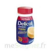 Delical Boisson Hp Hc Concentree Nutriment Vanille 4bouteilles/200ml à LEVIGNAC