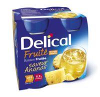 Delical Boisson Fruitee Nutriment Ananas 4bouteilles/200ml à LEVIGNAC
