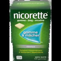 Nicorette 2 Mg Gom à Mâcher Médic Sans Sucre Menthe Fraîche Plq/105gom à LEVIGNAC