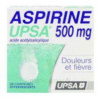 Aspirine Upsa 500 Mg, Comprimé Effervescent à LEVIGNAC