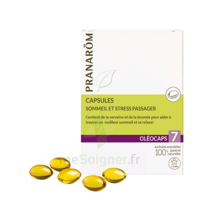 Pranarom Oleocaps 7 Caps Sommeil & Stress Passager à LEVIGNAC