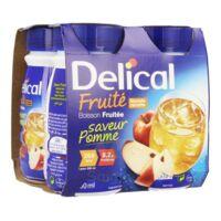Delical Boisson Fruitee Nutriment Pomme 4bouteilles/200ml à LEVIGNAC