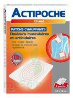Actipoche Patch Chauffant Douleurs Musculaires B/2 à LEVIGNAC