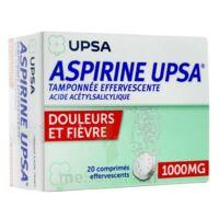 Aspirine Upsa Tamponnee Effervescente 1000 Mg, Comprimé Effervescent à LEVIGNAC