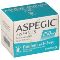Aspegic Enfants 250, Poudre Pour Solution Buvable En Sachet-dose à LEVIGNAC
