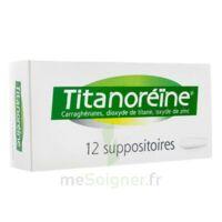 Titanoreine Suppositoires B/12 à LEVIGNAC