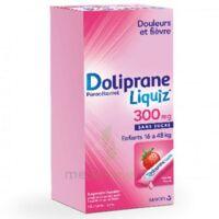 Dolipraneliquiz 300 Mg Suspension Buvable En Sachet Sans Sucre édulcorée Au Maltitol Liquide Et Au Sorbitol B/12 à LEVIGNAC