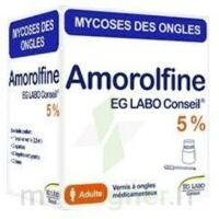 Amorolfine Eg 5 % V Ongles Médicamenteux 1fl/2,5ml+10 Spat à LEVIGNAC