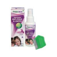 Paranix Solution Antipoux Huiles Essentielles 100ml+peigne à LEVIGNAC