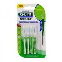 Gum Trav - Ler, 1,1 Mm, Manche Vert , Blister 4 à LEVIGNAC