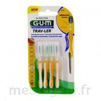 Gum Trav - Ler, 1,3 Mm, Manche Jaune , Blister 4 à LEVIGNAC