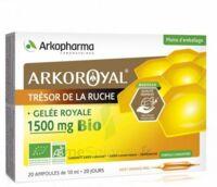 Arkoroyal Gelée Royale Bio 1500 Mg Solution Buvable 20 Ampoules/10ml à LEVIGNAC