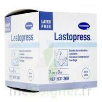 Lastopress® Bande De Compression Cohésive 7 Cm X 3 Mètres - Coloris Blanc à LEVIGNAC