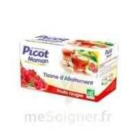Picot Maman Tisane D'allaitement Fruits Rouges 20 Sachets à LEVIGNAC
