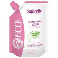Saforelle Solution Soin Lavant Doux Eco-recharge/400ml à LEVIGNAC