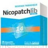 Nicopatchlib 14 Mg/24 H Dispositifs Transdermiques B/28 à LEVIGNAC
