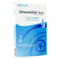 Desomedine 0,1 % Collyre Sol 10fl/0,6ml à LEVIGNAC