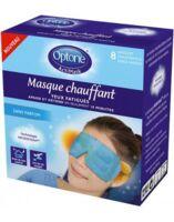 Optone Actimask Masque Chauffant Yeux Sans Parfum 8 Sachets/1 à LEVIGNAC