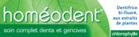 Boiron Homéodent Soin Complet Dents Et Gencives Pâte Dentifrice Chlorophylle 2t/75ml à LEVIGNAC