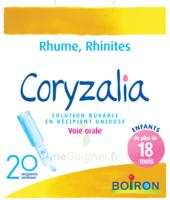 Boiron Coryzalia Solution Buvable Unidose B/20 à LEVIGNAC