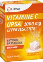 Vitamine C Upsa Effervescente 1000 Mg, Comprimé Effervescent à LEVIGNAC